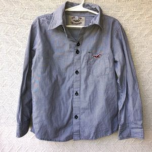 Hollister button-down shirt polo size 8